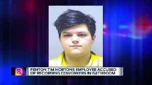 20-year-old facing 16 charges for allegedly recording coworkers inside bathroom at Fenton Tim Hortons [Video]