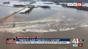 Families forced from homes as floodwaters rise [Video]