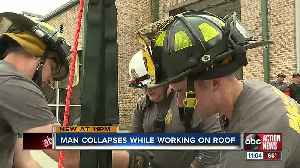 Pasco County firefighters save man after suffering cardiac arrest on a roof [Video]