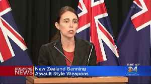 News video: New Zealand Announces Assault Rifle Ban Days After Deadly Shootings