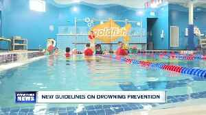 AAP sets new guidelines to prevent childhood drownings [Video]