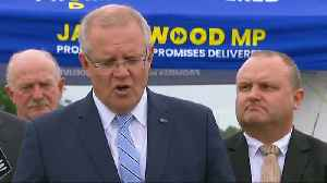 News video: Australian PM happy with 'moderation' of Turkey's Christchurch comments