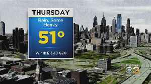 Philadelphia Weather: Soggy Thursday [Video]