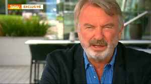 New Zealand actor Sam Neill was 'in floods of tears' after shooting [Video]