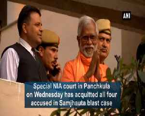 Samjhauta blast NIA court acquits all four accused in case [Video]