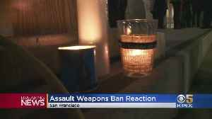 San Francisco Holds Vigil For Slain New Zealanders As Country Bans Assault Weapons [Video]