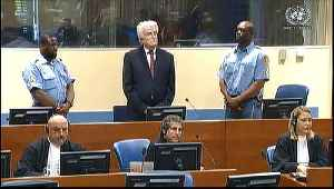 Karadzic sentence increased to life for Bosnia genocide: UN [Video]