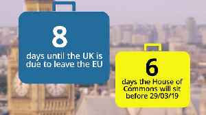 Countdown to Brexit: Eight days until Britain leaves the EU [Video]