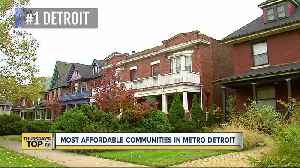 Thursday's Top 7: Most-affordable cities for homebuyers in metro Detroit [Video]