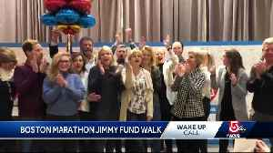 Wake Up Call from the Boston Marathon Jimmy Fund Walk [Video]