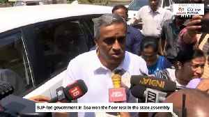 News video: Goa CM Pramod Sawant wins assembly floor test