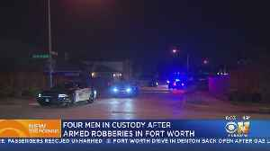 4 Armed Robbery Suspects Arrested In Fort Worth After Chase [Video]