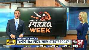 Enjoy $10 pizza deals during Tampa Bay Pizza Week [Video]