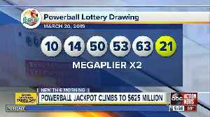 No one wins Powerball, ticket worth $1M sold in Florida [Video]