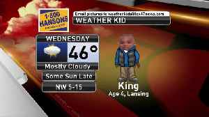 Weather Kid - King - 3/21/19 [Video]