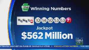 No Winners In Latest Drawing, Powerball Jackpot Grows To $625M [Video]