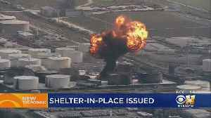 Air Quality Concerns Near Site Of Texas Petrochemical Fire [Video]