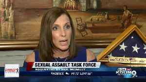 Senator McSally requests sexual assault task force [Video]