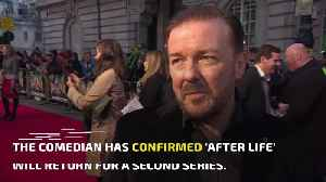 Ricky Gervais confirms more After Life [Video]