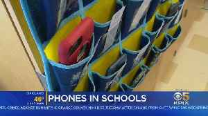 Bill Seeks To Ban Cellphones In California Classrooms [Video]