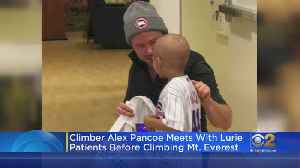 Northwestern Grad Climbing Mt. Everest For A Cause [Video]