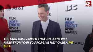 Richard E Grant says Julianne Moore was fired from film over fat suit [Video]