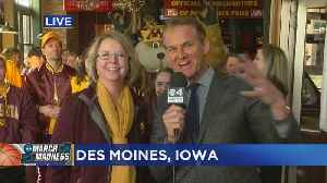 Gopher Fans Get Hyped At Pregame Pep Rally [Video]