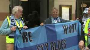 Coventry fans protest against SISU [Video]