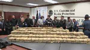 Authorities Hold Press Conference After Over 1,100 Pounds Of Cocaine Seized At Port Of Philadelphia [Video]