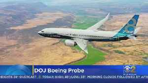 Justice Department Conducting Criminal Investigation Of Boeing [Video]