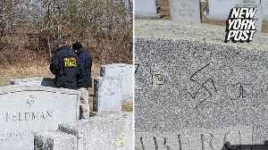 59 Jewish graves defaced [Video]