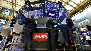 Levi's Stock Jumps In It's First Day Of Trading [Video]