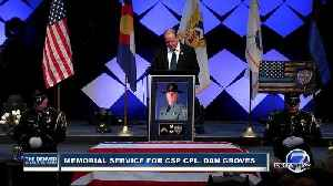 Gov. Polis gives eulogy at CSP corporal's funeral service [Video]
