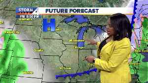 Elissia Wilson's midday Storm Team 4cast for March 21, 2019 [Video]