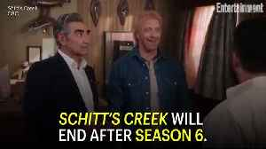 Ew, David! Schitt's Creek Will End After Season 6: Dan and Eugene Levy Share Sweet Letter to Fans [Video]
