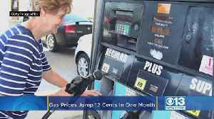 Gas Prices Jump 12 Cents In One Month, Will Keep Increasing [Video]