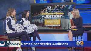 Rams Cheerleaders Holding Open Auditions For 2019 Season [Video]