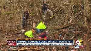 Human remains found in Delhi Township [Video]