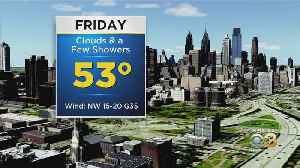 Philadelphia Weather: Not As Soggy Friday [Video]