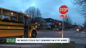 Cameras could be installed on NY school buses to catch drivers illegally passing them [Video]