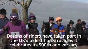 England's oldest horse race under starter's orders to mark 500th anniversary [Video]