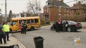 Students Hospitalized After School Bus Rear-Ended On North Side [Video]