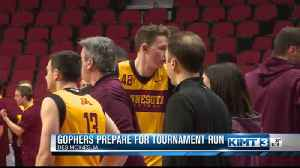 John Marshall grab Michael Hurt and Golden Gophers prep for tournament run [Video]