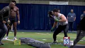 Tranquill Works Out for All 32 NFL Teams at Notre Dame Pro Day [Video]