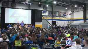 Blackhawk Hold Pep Rally Ahead of Saturday's State Championship Game [Video]