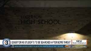 Students at Edgerton High School to be searched Thursday after reported bomb threat [Video]