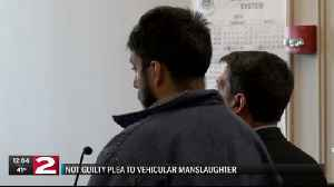 Utica man pleads not guilty to manslaughter charges following Kirkland fatal crash [Video]
