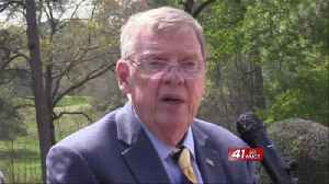 Senator Johnny Isakson visits Ocmulgee National Historic Park [Video]