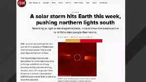 A Solar Storm Heading To Earth Is Expected To Bring Northern Lights [Video]