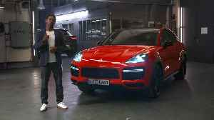 News video: Welcome to the family - the all new Porsche Cayenne Coupe